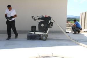 brušenje betona obdelava s htc stroji