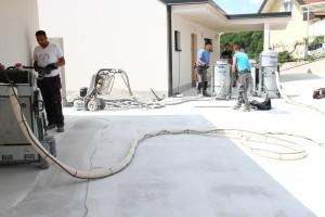 Obdelava: dekorativni betonski tlaki za zunanje površine