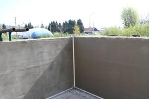 Fina sanacija betona na pretakališču