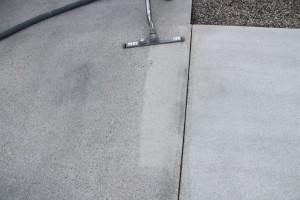 Štokanje betona – sesanje
