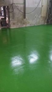 Poliuretan-cementni tlak v Žerjavu