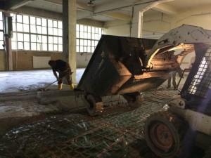 poliran betonski tlak vgradnja ab plošče