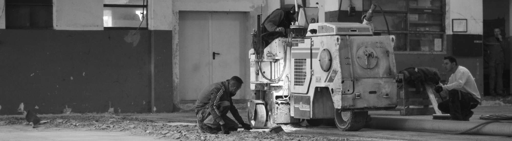 priprava betonskega tlaka