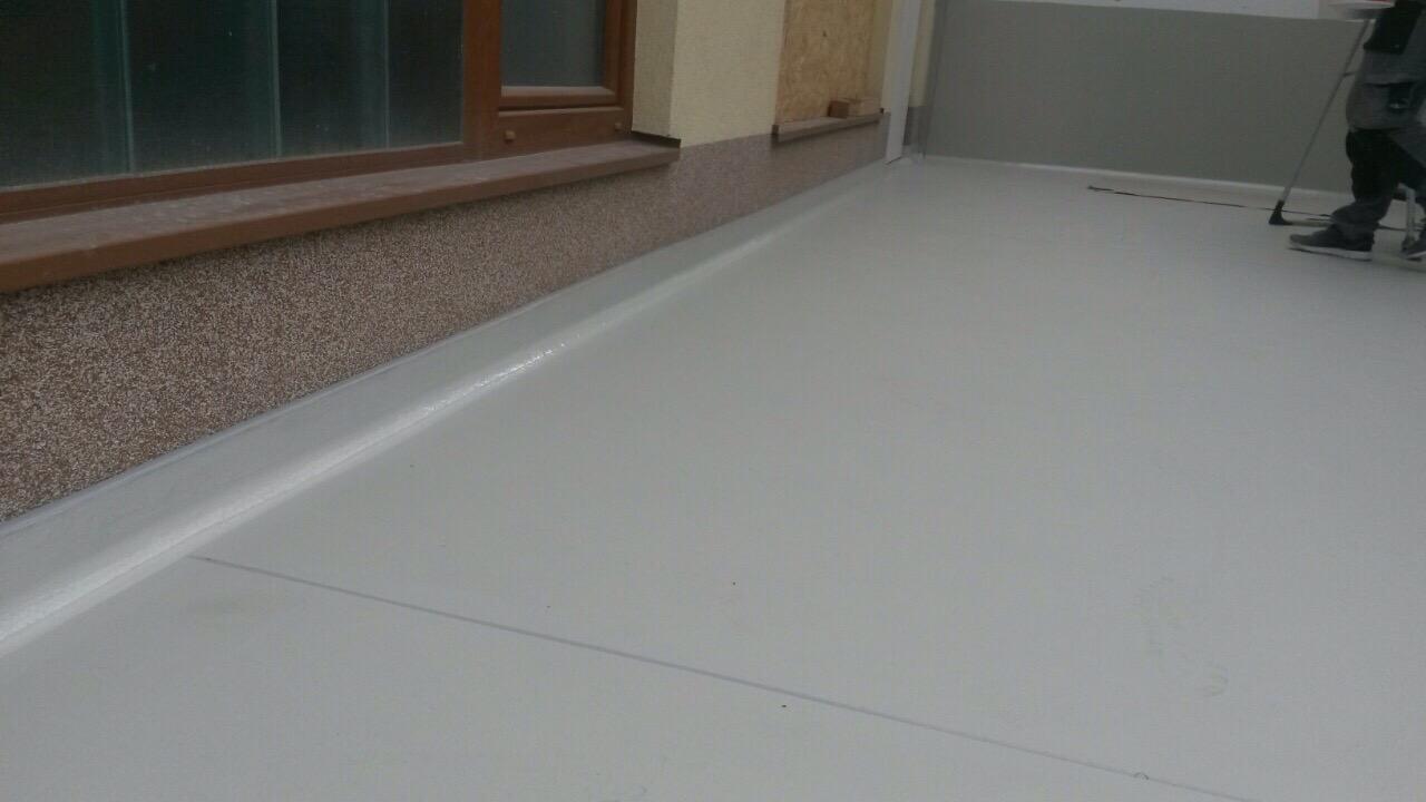 Izvedba poliuretan cementnega tlaka